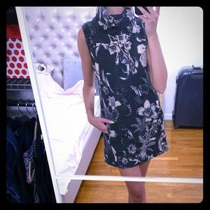 Obey floral sweater dress